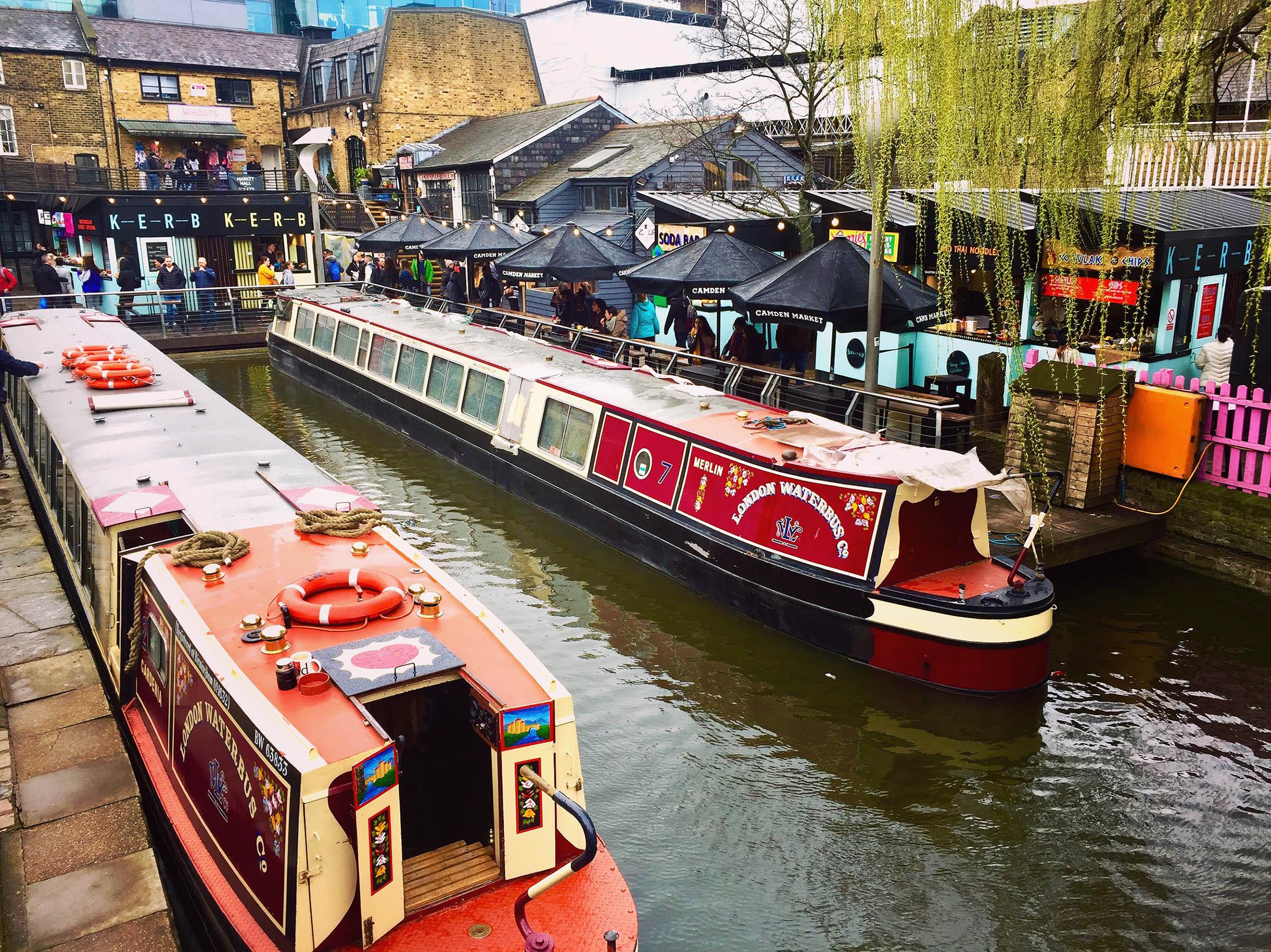 Camdem Canal Londres