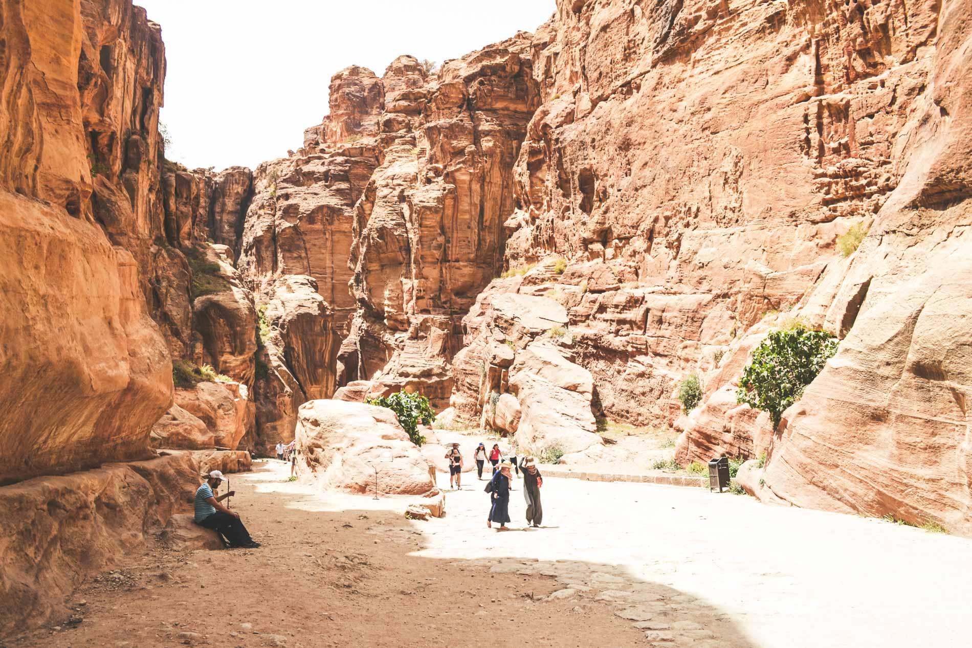 Siq-Jordanie-Petra
