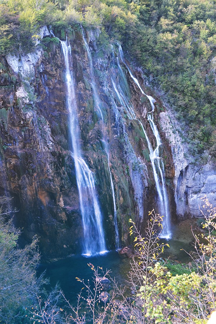Grandes chutes Lacs Plitvice