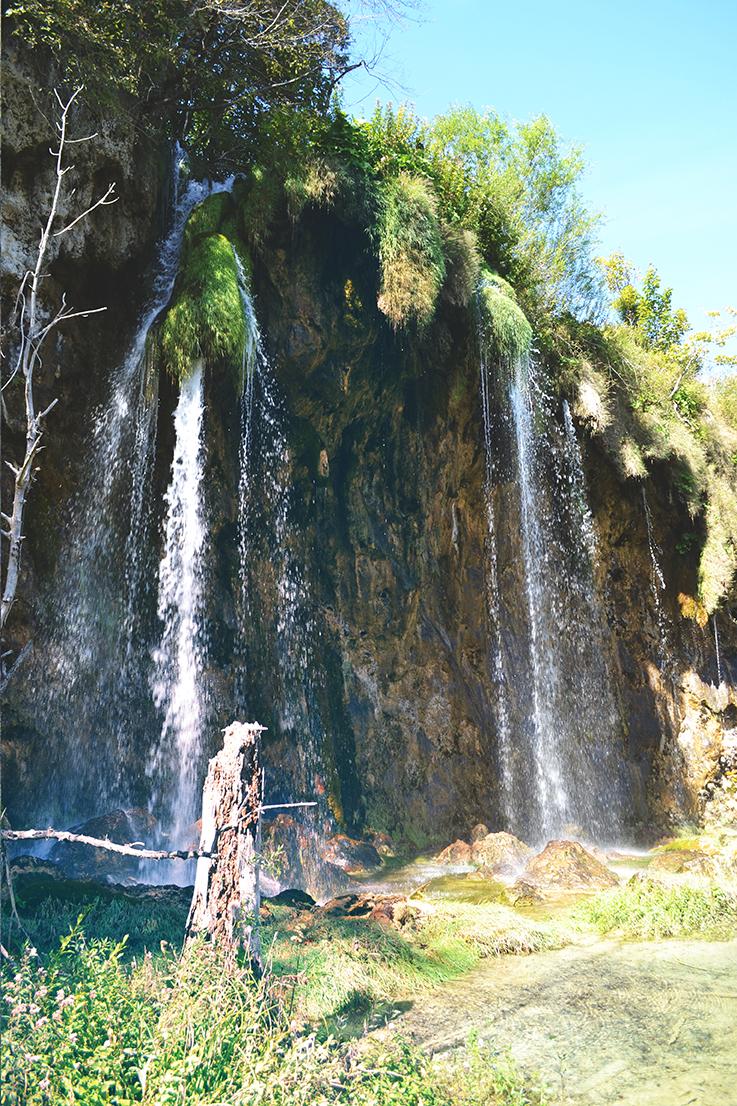 Cascade Lacs supérieurs de Plitvice