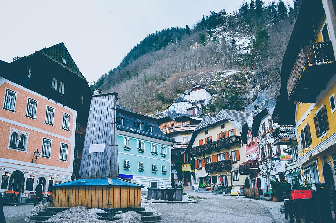 Hallstatt Village en Autriche