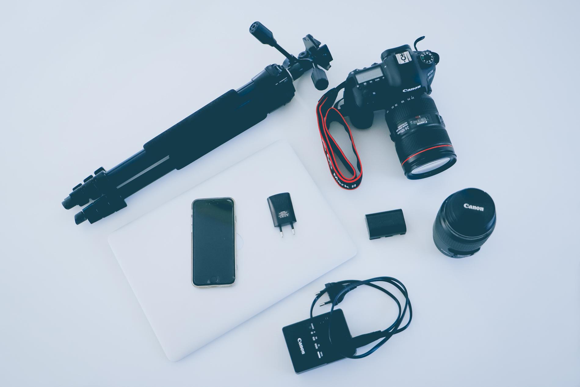 Quels accessoires photo emmener en voyage ?