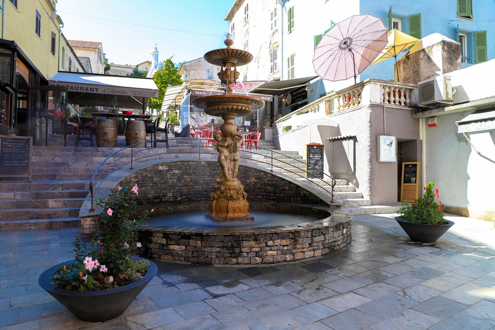 Fontaine de Corte