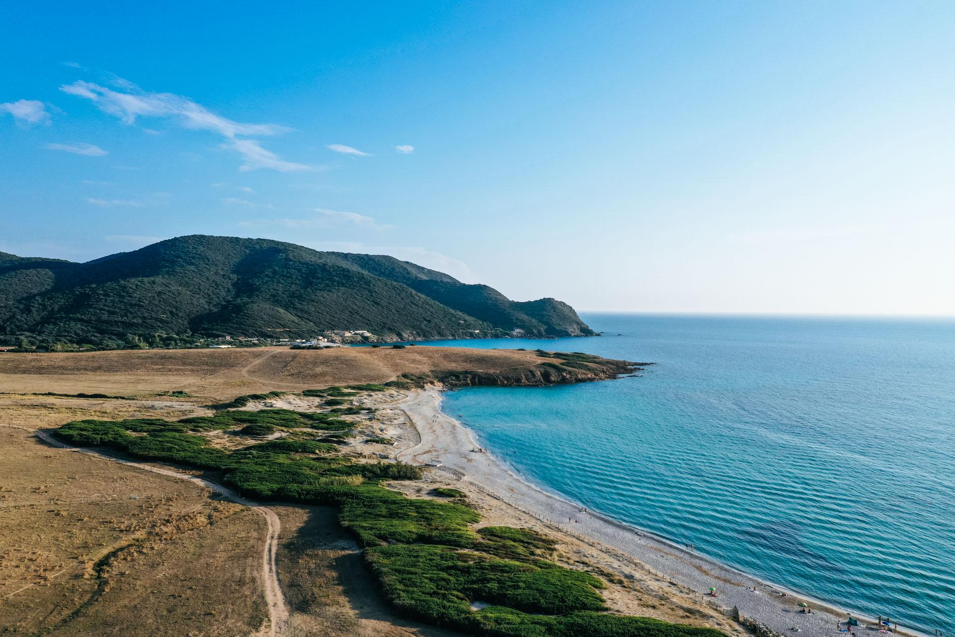 Plages en Corse
