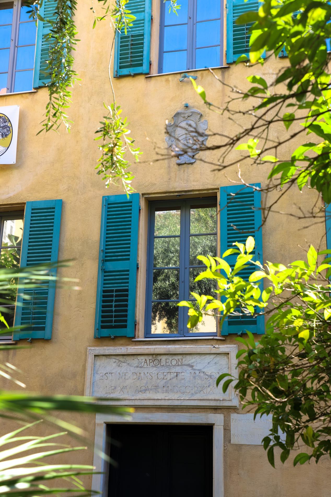 Maison-Napoleon-Ajaccio-Corse