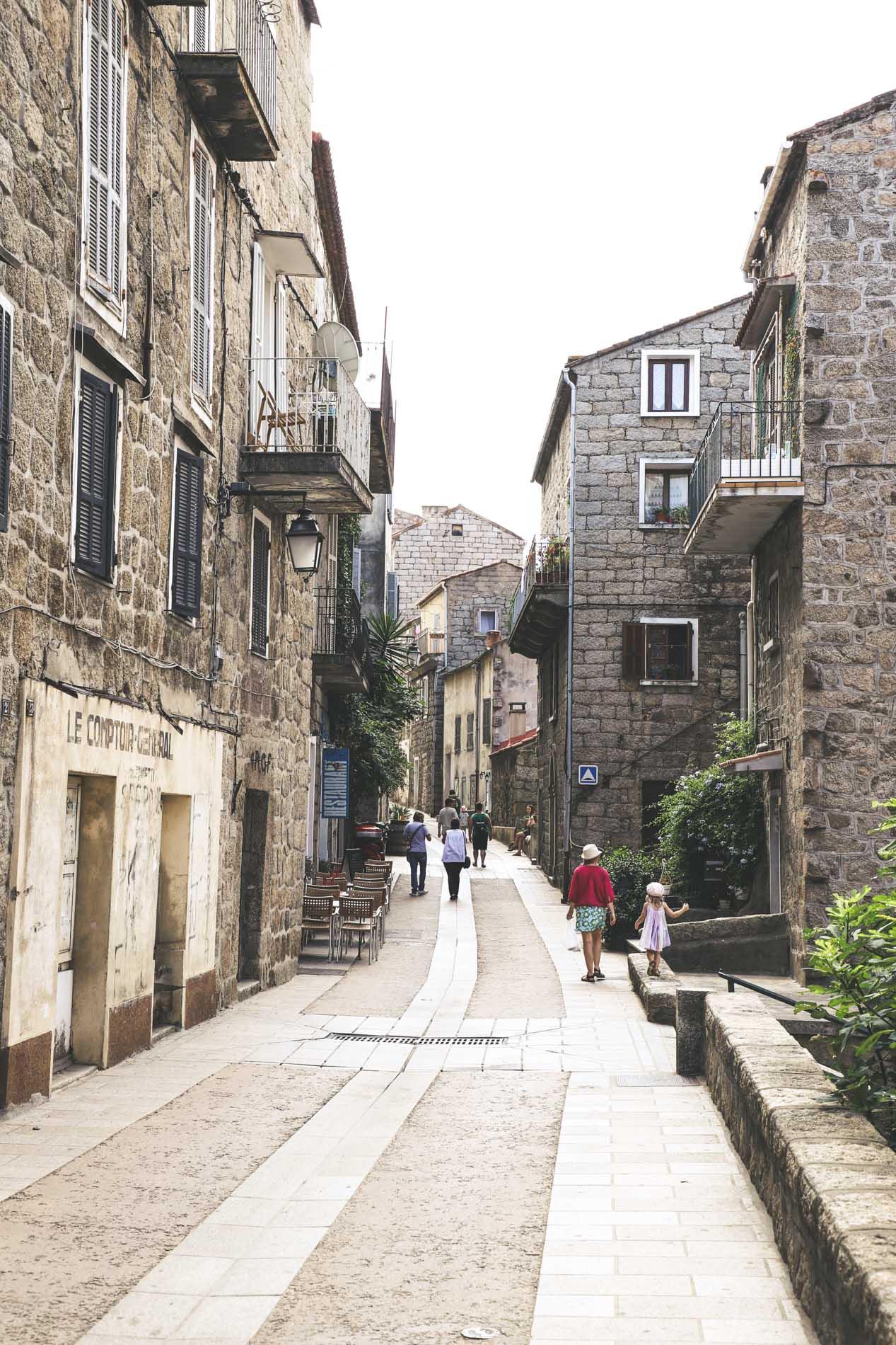 Ruelle Sartene Corse du Sud
