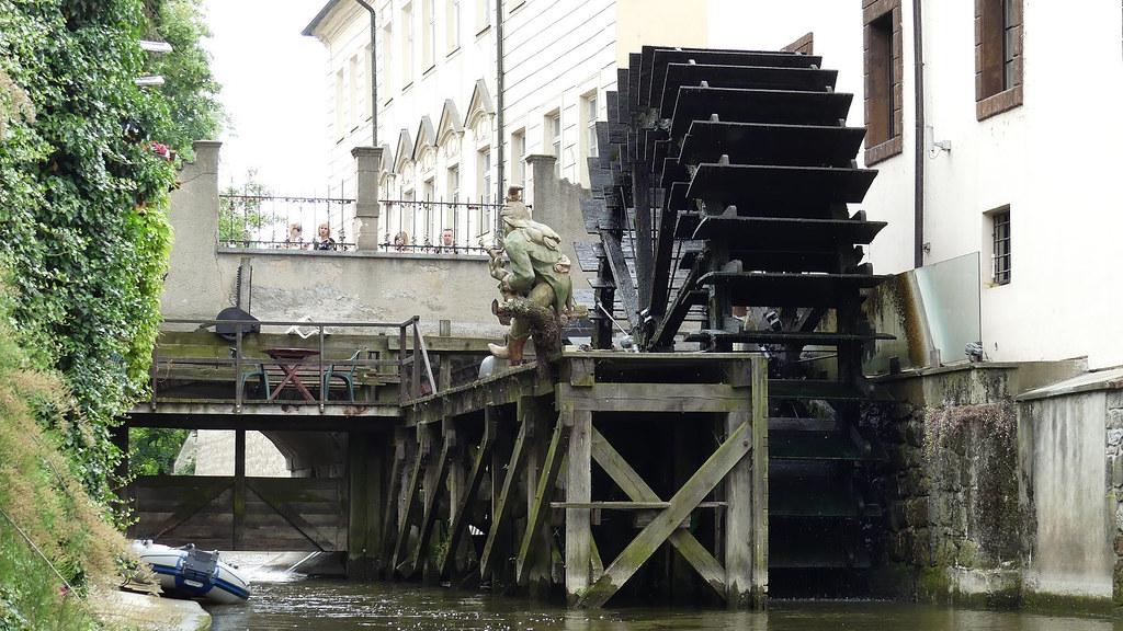 Tchequie, Prague, Mala Strana, Kampa , moulin du Grand Prieur