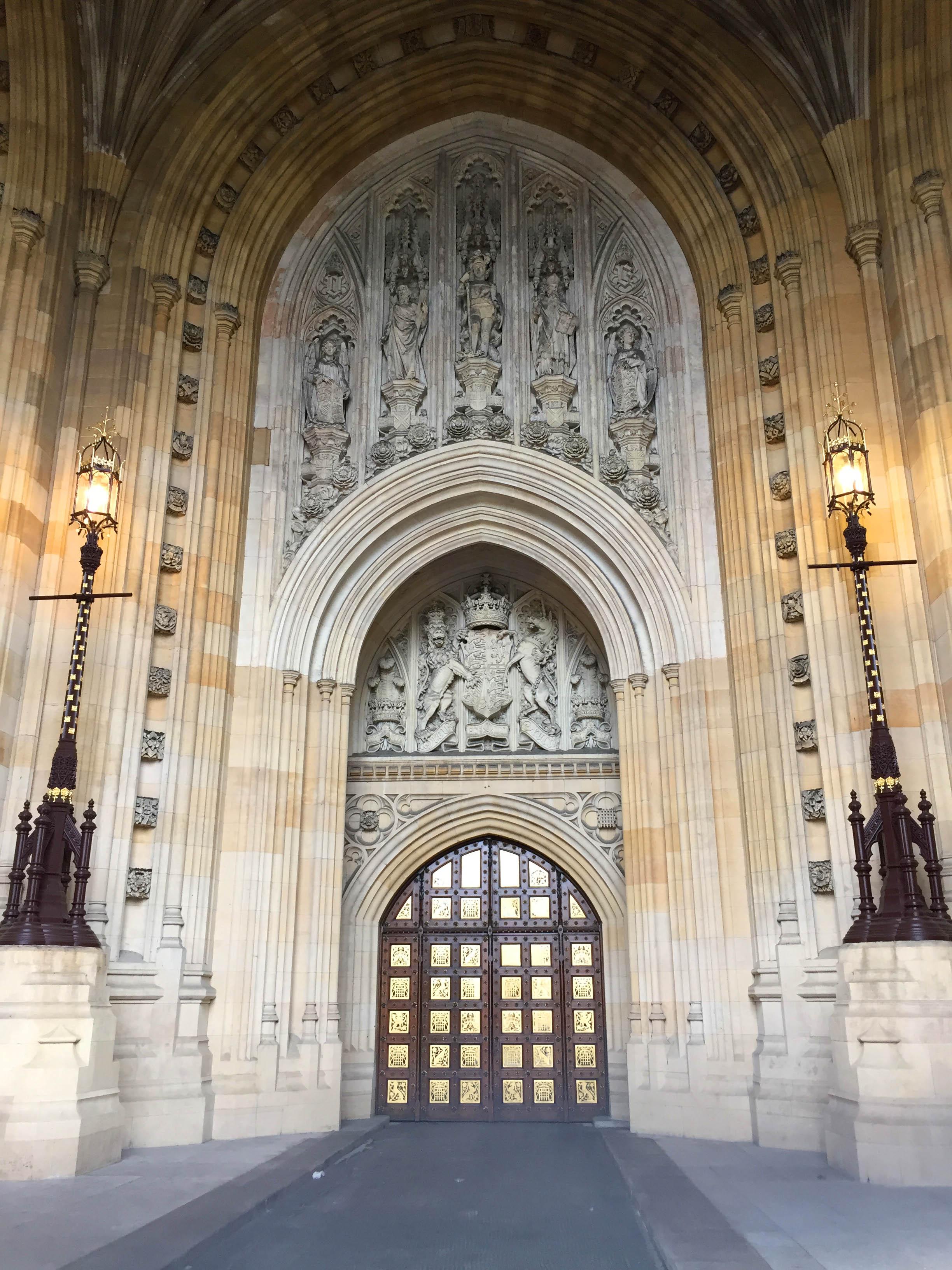 Westminster Abbaye Porte