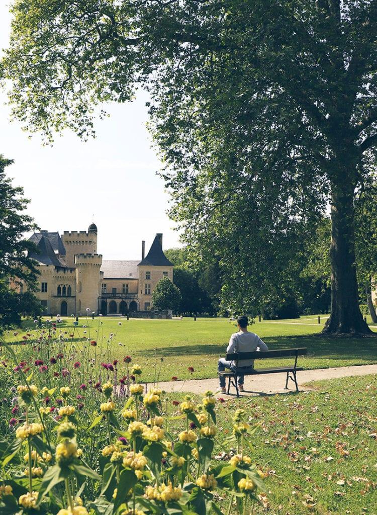 Agreable-Parc-Chateau-de-Campagne-Dordogne