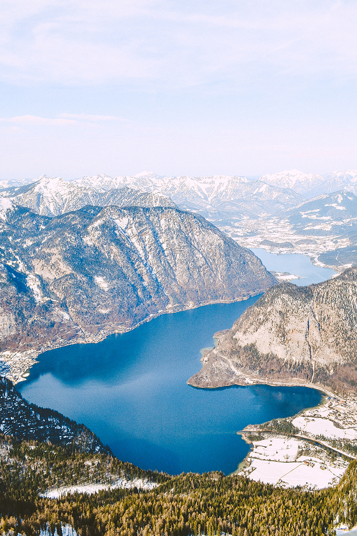 Lac Hallstatt Autriche