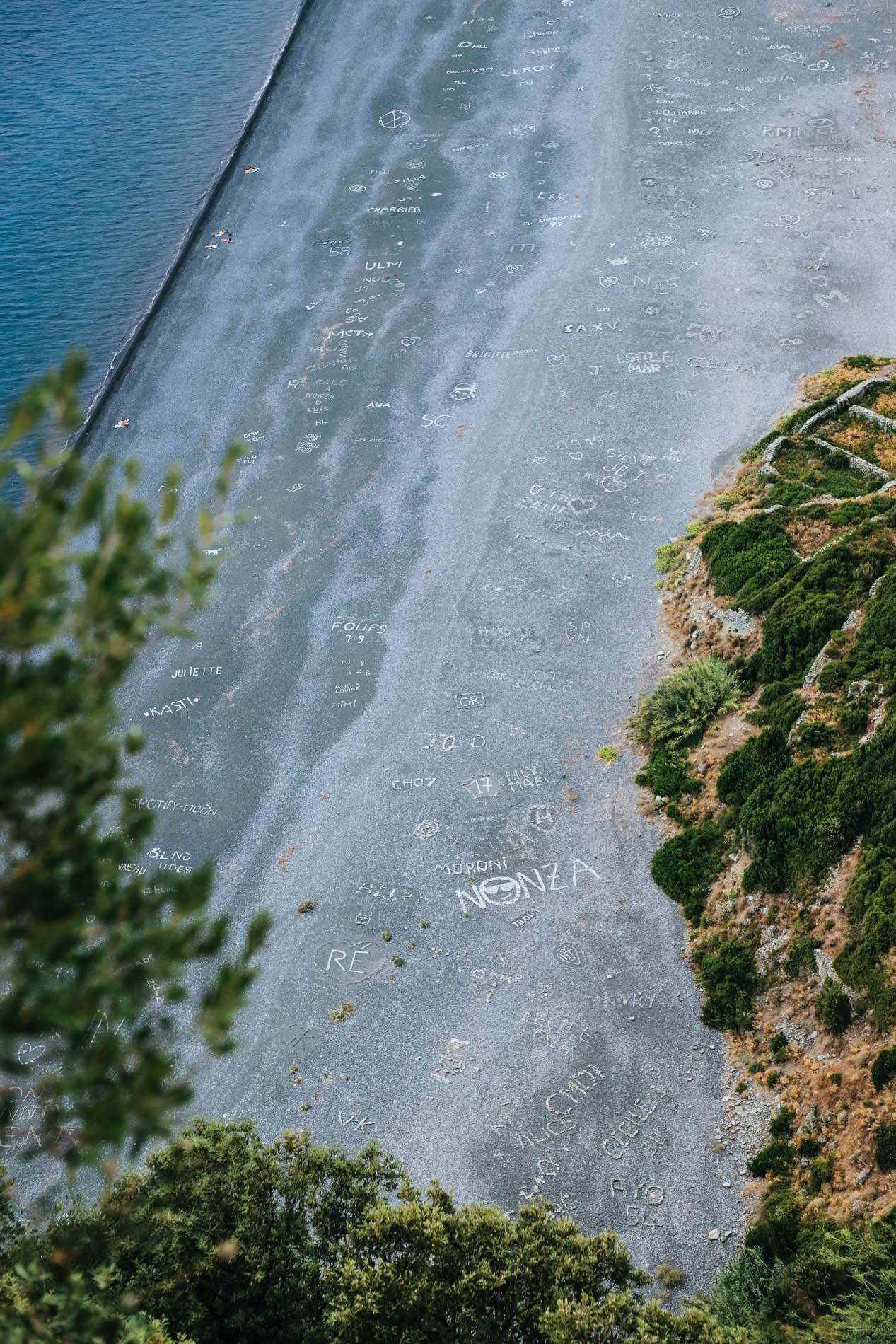 Plages en Corse de Nonza