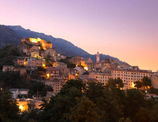 Corte, capitale historique de la Corse