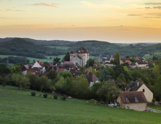 Curemonte-village-correze