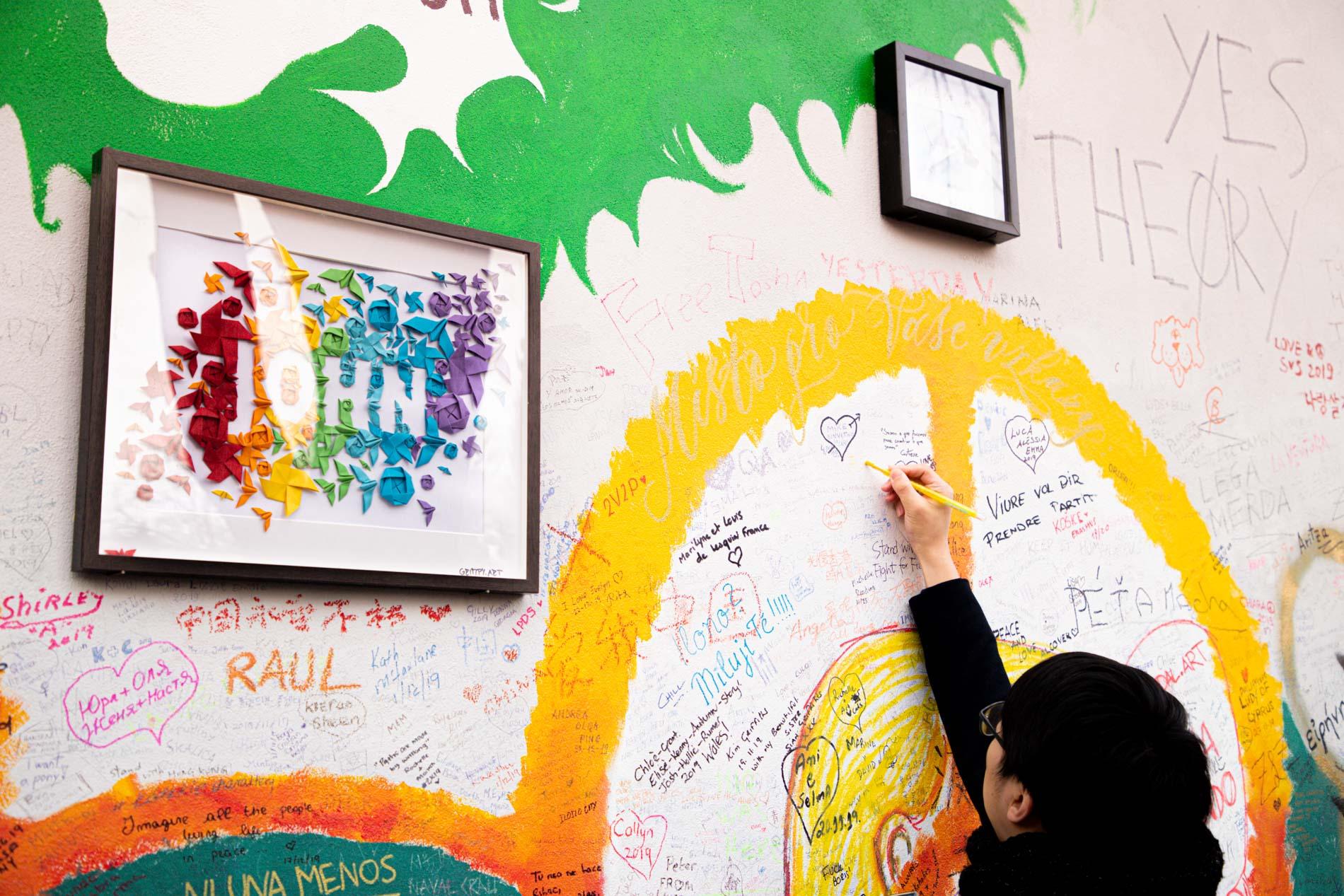 Mur Lennon Prague