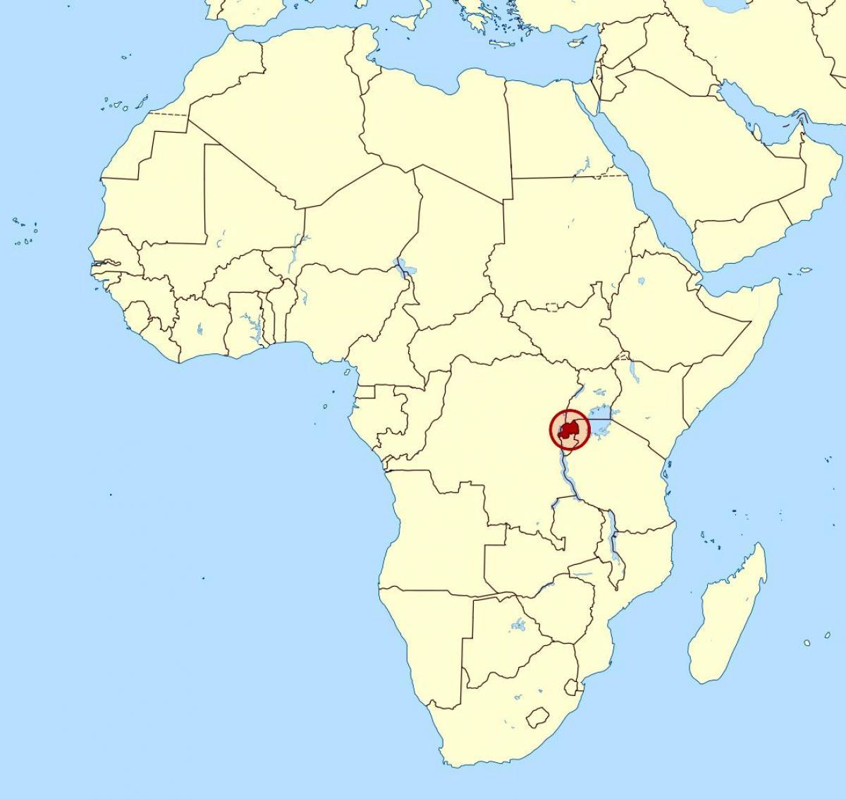 le-rwanda-afrique-carte