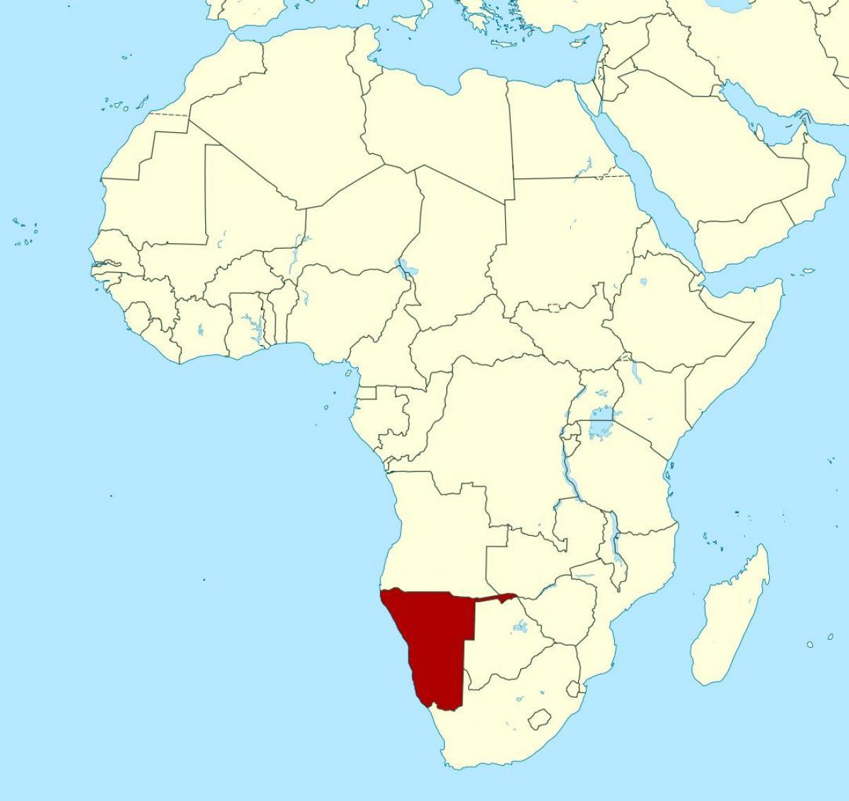 la-namibie-carte-de-afrique